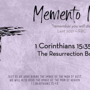 1 Corinthians 15: 35-38 | The Resurrection Body