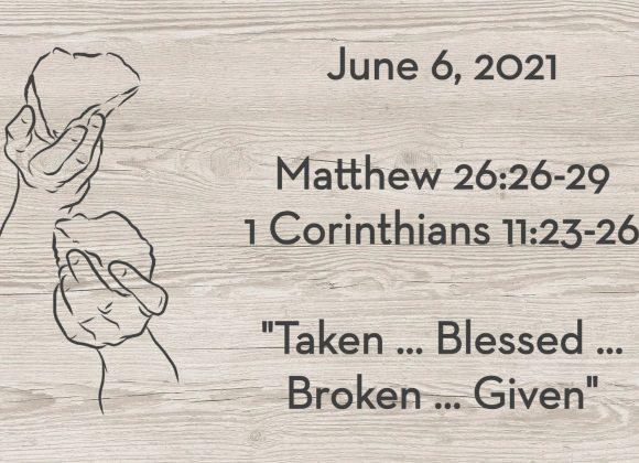 Matthew 26:26-29 & 1 Cor. 11:23-26 | Words of Institution: Calling
