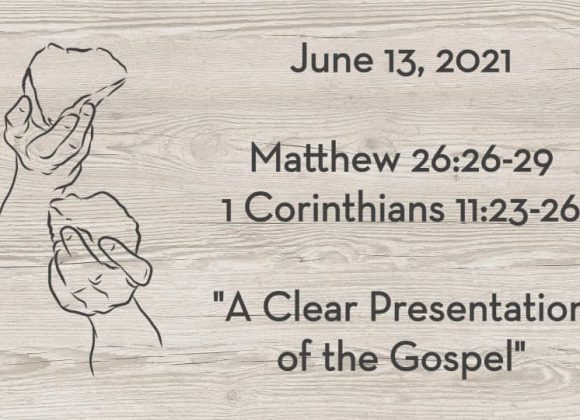 Matthew 26:26-29 & 1 Cor. 11:23-26